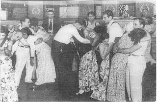 Dance marathons were a popular craze during the 20s and 30s and a way to win some cash during the depression.